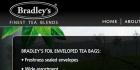 Bradley's premium tea
