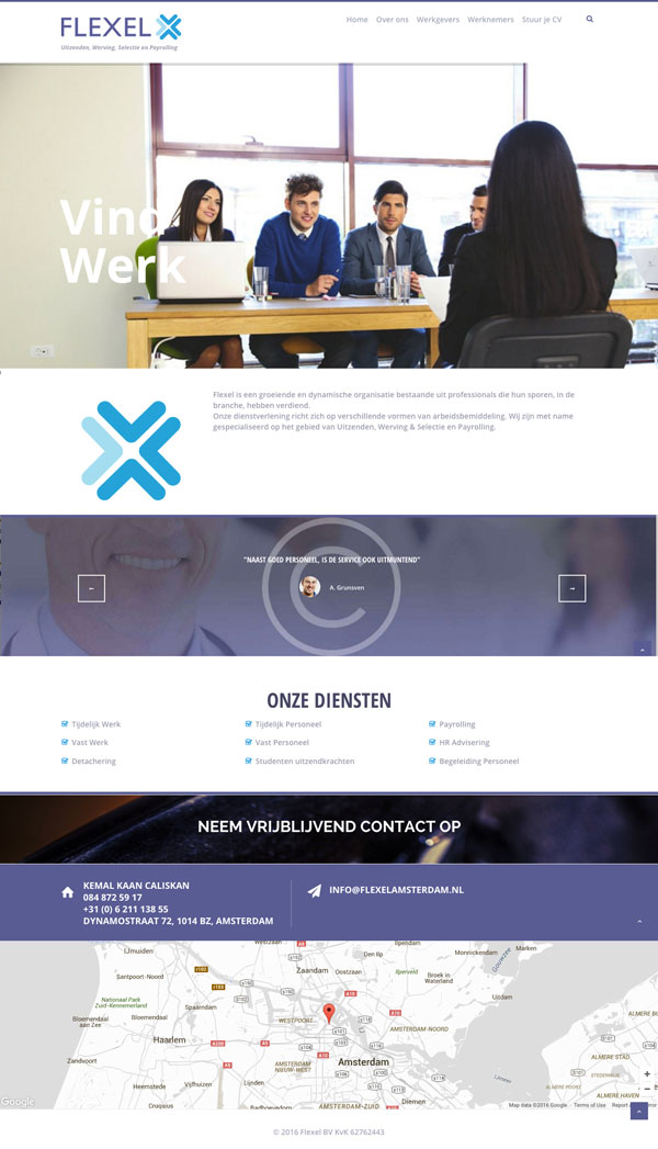flexel-website